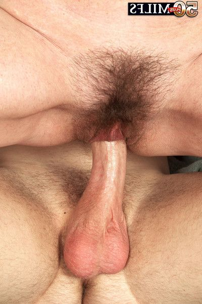 Hairy mellow josette lynn anal fucked subsequently massage