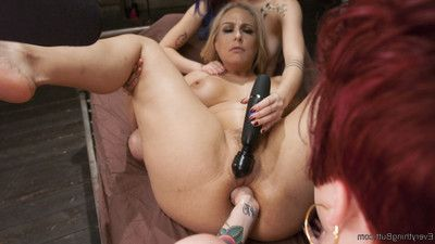 Fairy-haired bombshell and the beautiful eastern are submissive for miss jeze belle!
