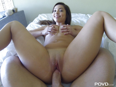 Skinhead muff of an Chinese cowgirl Lorraine Mack acquires drilled hardcore
