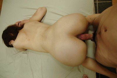 Asami Noda acquires screwed and unveils her creampied fur pie in close up
