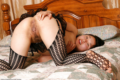 Eastern number 1 timer Small caresses insignificant pantoons during modelling fishnet nylons
