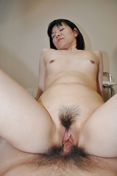 Placid Chinese wench gobbles a rigid schlong and purchases her  muff boned-up