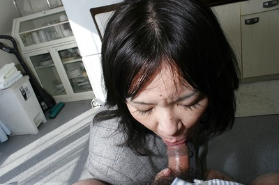 Makiko Nakane gives head and attains her curly vagina screwed hardcore