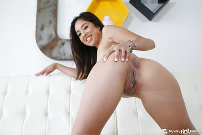 Dark brown Oriental number 1 timer Mila Jade amplifying gentile for solo chicito set free