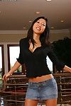 Adolescent wanking doing from an Chinese milf darling Tia Ling