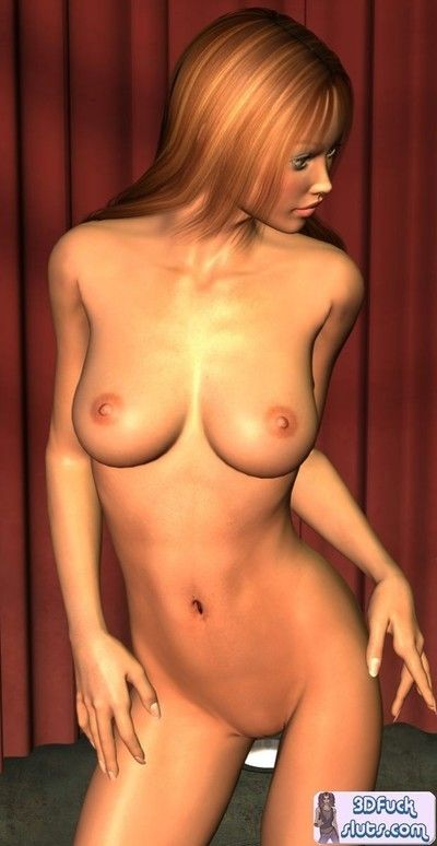 3d toons naked