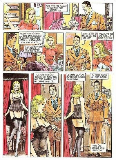Porn comics with moist chick being fucked hard