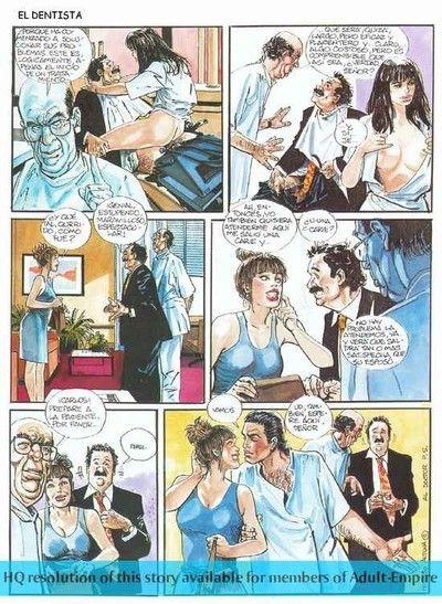Moist grandpa comics with sexy girl taking in jock