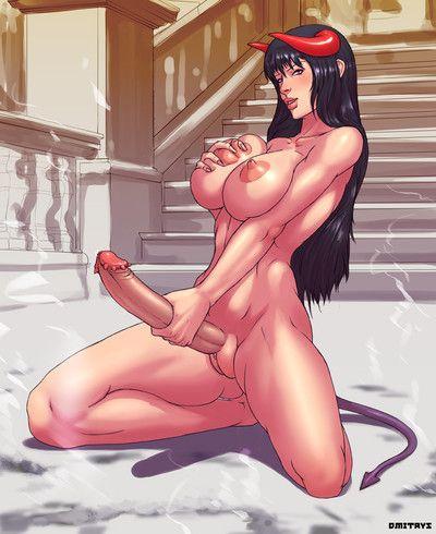 Infrequent dickgirl manga comicks