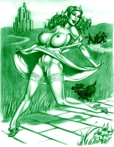 Dorothy porn caricatures