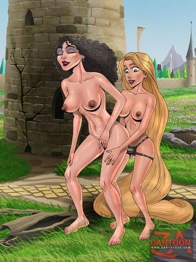 Rapunzel and tarzan in bdsm porn