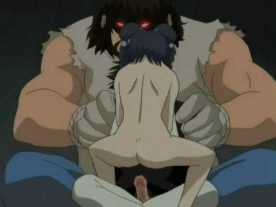 Hentai session with infant pretty being in sex slavery