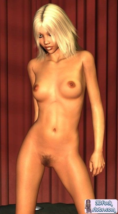 3d toon undressed