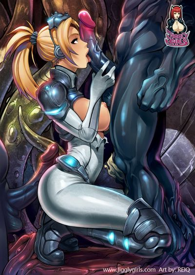 Adolescent and sexy StarCraft lass Nova in sex images and comics