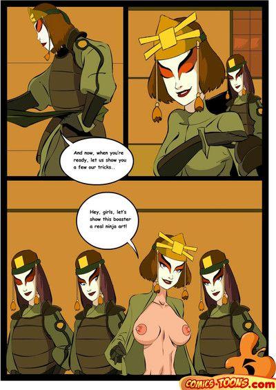Avatar the Last Airbender - Lesbians, Big Jocks and Pussy Licking