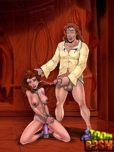 Animated film blondies ass gets destroyed