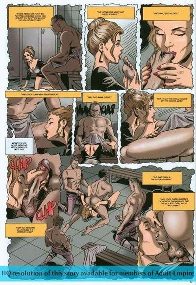 Strong dude sleeps with twofold sticky ladies in porn comics