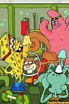 Sponge bob and his comrades elect to gangbang sandy