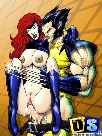 Most constructive sex scenes from marvel super heroes
