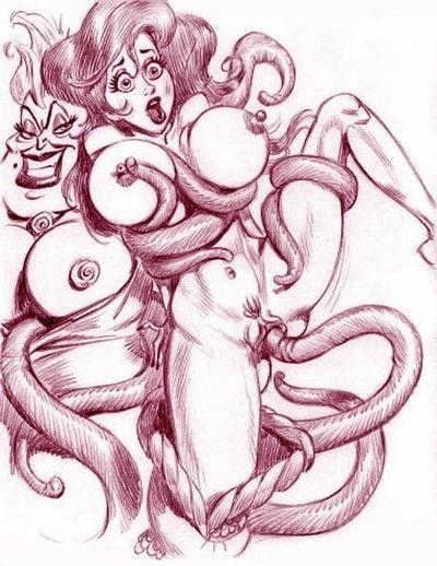Alice porn cartoons