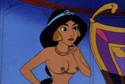 Jasmine porn cartoons