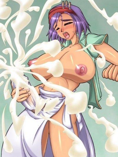 Cumming shemale anime