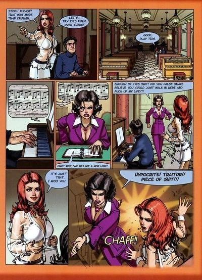 Untamed hooker with fuckable waste in fucking comics