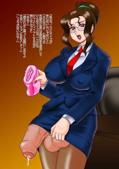 Dickgirl bonks pocket pussy