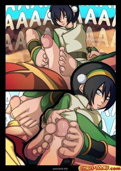 Avatar Last Airbender- Foot Infatuation