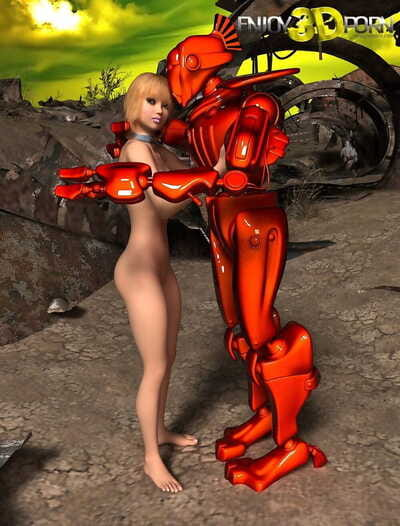 Another planet where robots and moist queens fuck - part 133