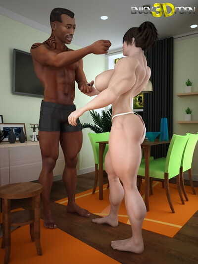 Muscled brown hair wants to blow schlong - part 143