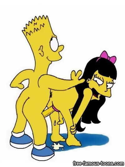 Eminent toons bart and lisa simpsons group sex - part 1106