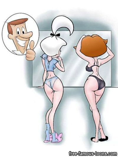 Famous caricatures jetsons sexy groupie