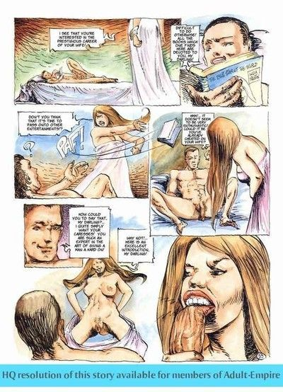 Queens sharing cock in the hottest fucking comics