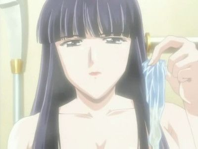 Distinctive hentai images with cock ridden by two chicks
