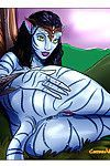 Avatar aliens show us how they have fun sex