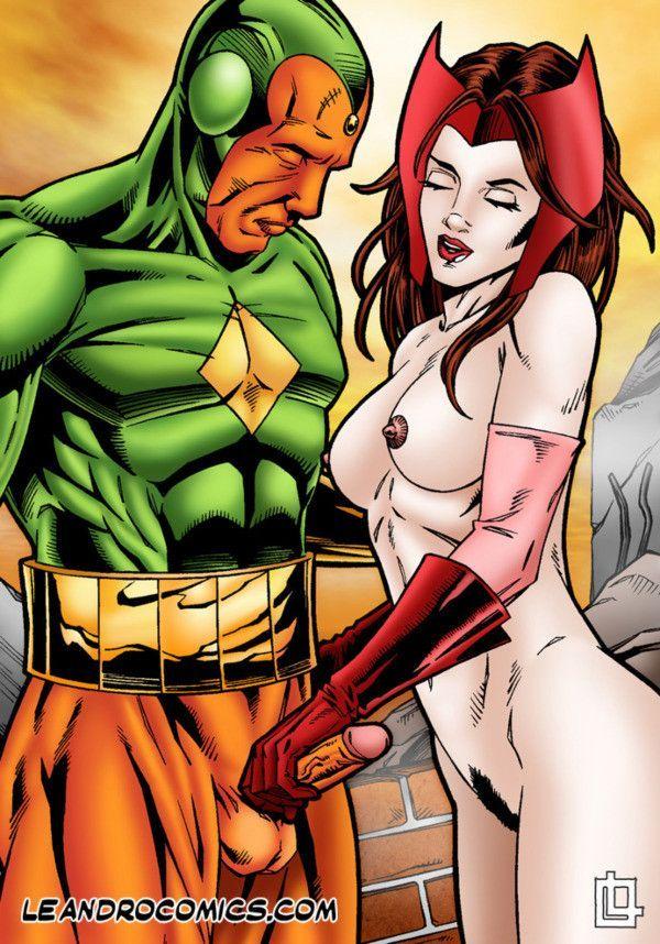 superhelden porno comics