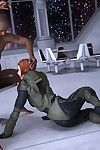 Mercenary courtesan sucks swarthy jock