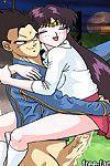 Sailormoon and dragonball anime hentai sketch orgy