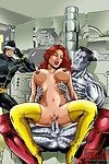 Sticky fucking action by extreme cartton characters
