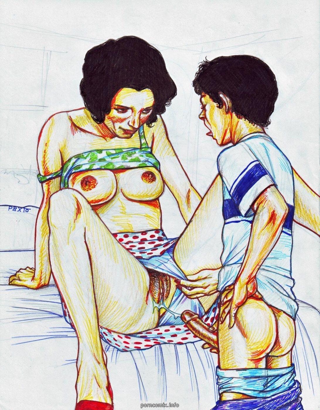 Pagina Porno De Incesto pbx mamá hijo incesto fotos - parte 2 en gratis comix porno