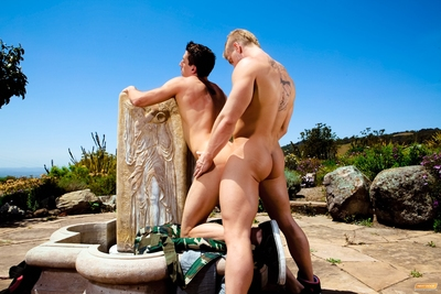 James is showing Dominic his hush-hush hiking follow on a blistering delightful day. It