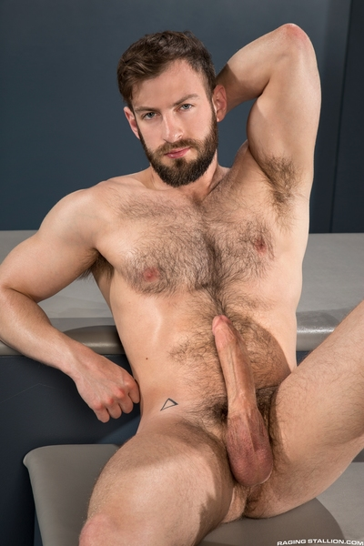 The craving for wang brings furry Bravo Delta face to face with tall, tan Aarin Asker. Bravo