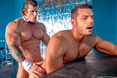 Zeb Atlas is larger than huge, with biceps the size of his head, and he