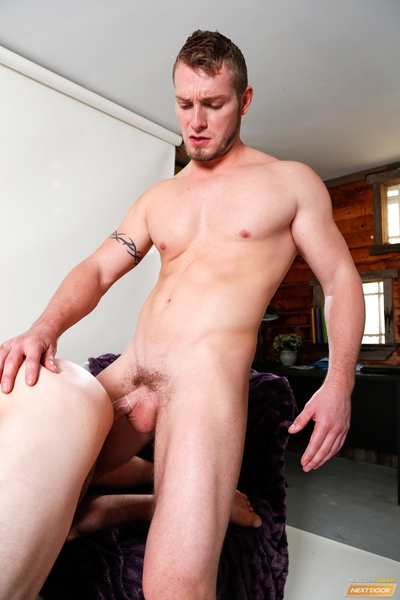 When Jake Karhoff approached Johnny Riley at the gym and suggested this chab could be a model with the right portfolio, Johnny no way expected to be butt out in a jock thong in Jake
