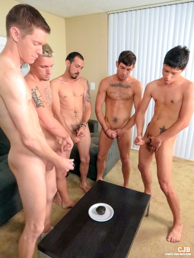 Lined up and ready to please, these 5 stallions have a surprise in store for them. Whenever you benefits from this copious guys together, it is safe to say there will be an abundance of meat. But what if u are hankering for some object sweet? Well we