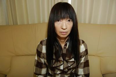 Revolting eastern princess Yoshiko Nagasawa undressing and exposing her hairy fur pie