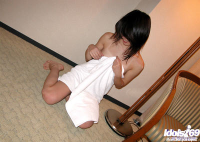 Japanese sweetmeat has some satisfaction with her marital-devices and her friend