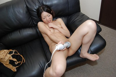 Chinese MILF Shizuka Saeki erotic dancing down and playing with a sex toy