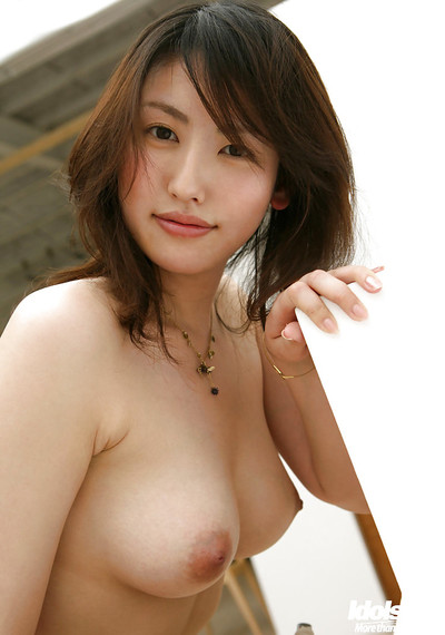 Seductive eastern hotty Takako Kitahara slipping off her clothing